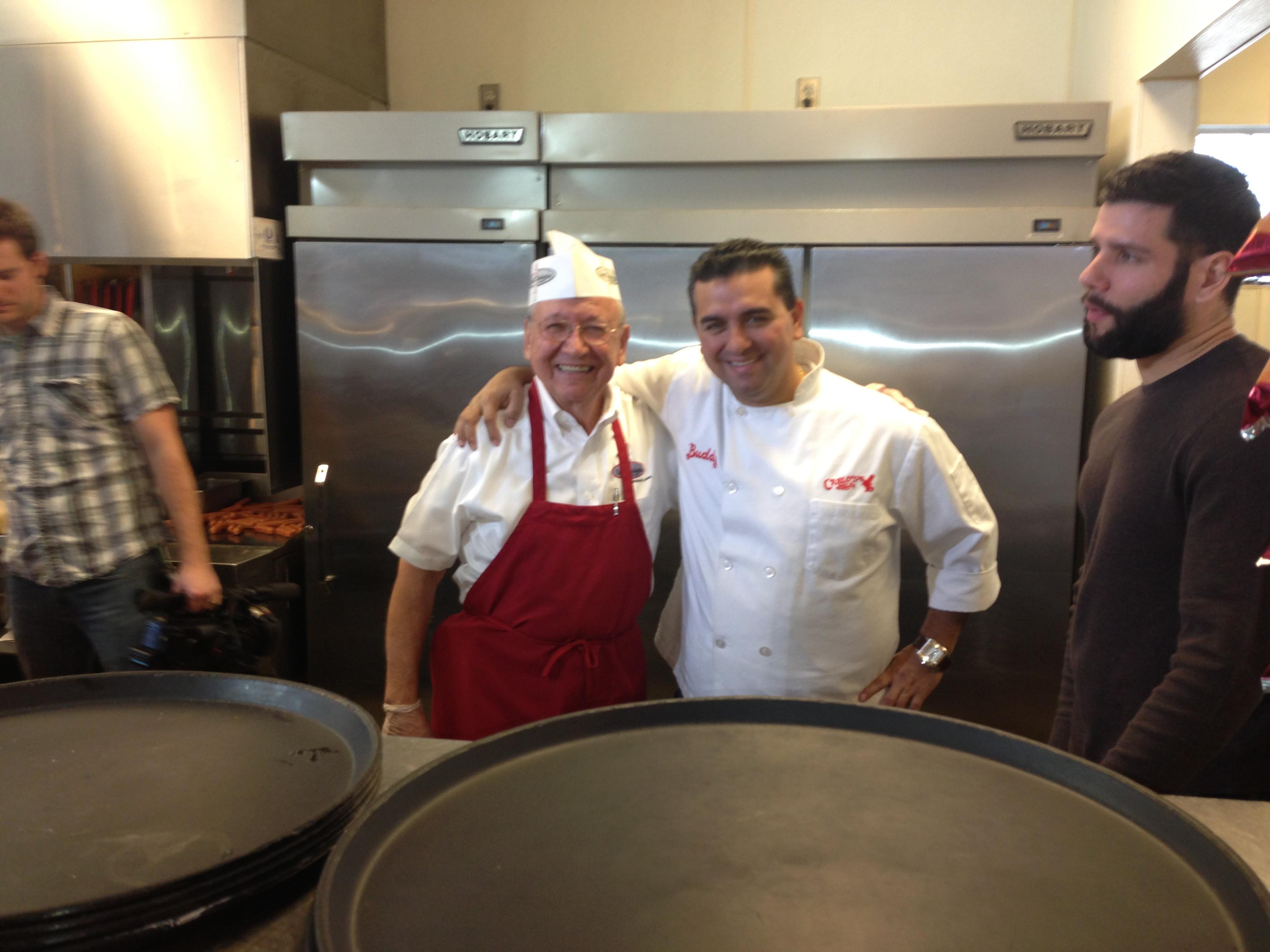 Buddy 'Cake Boss' Valastro visits CWC